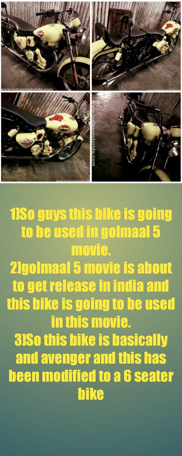 [secret] Golmaal 5 movie bike
