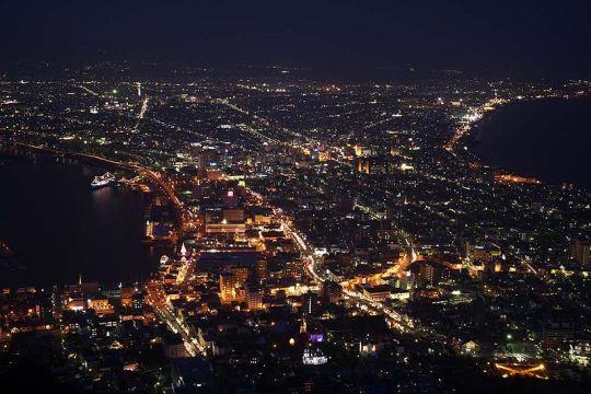 Gunung Hakodate, Hokkaido