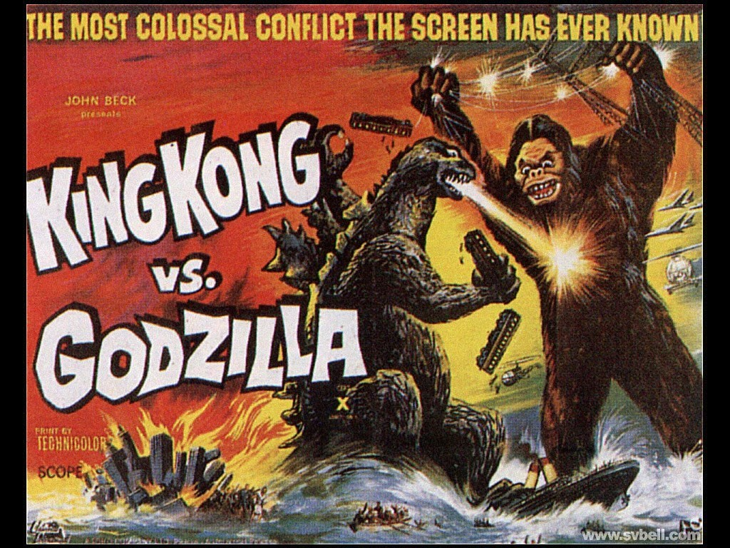 Obscure Video And DVD Blog: KING KONG VS. GODZILLA 1962 ...
