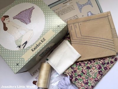 Sew Over It knicker making kit from White Tree Fabrics