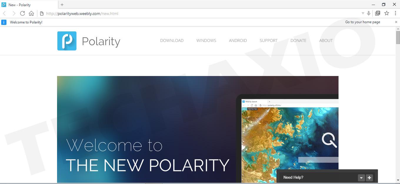 Polarity Browser Screenshot