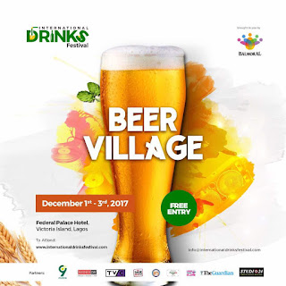 Lagos, Get Ready for the International Drinks Festival December 1 – 3