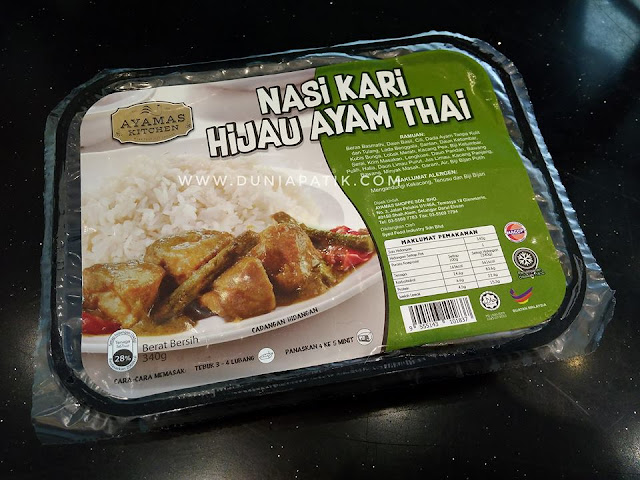 Nasi Ayam Kari Hijau Thai