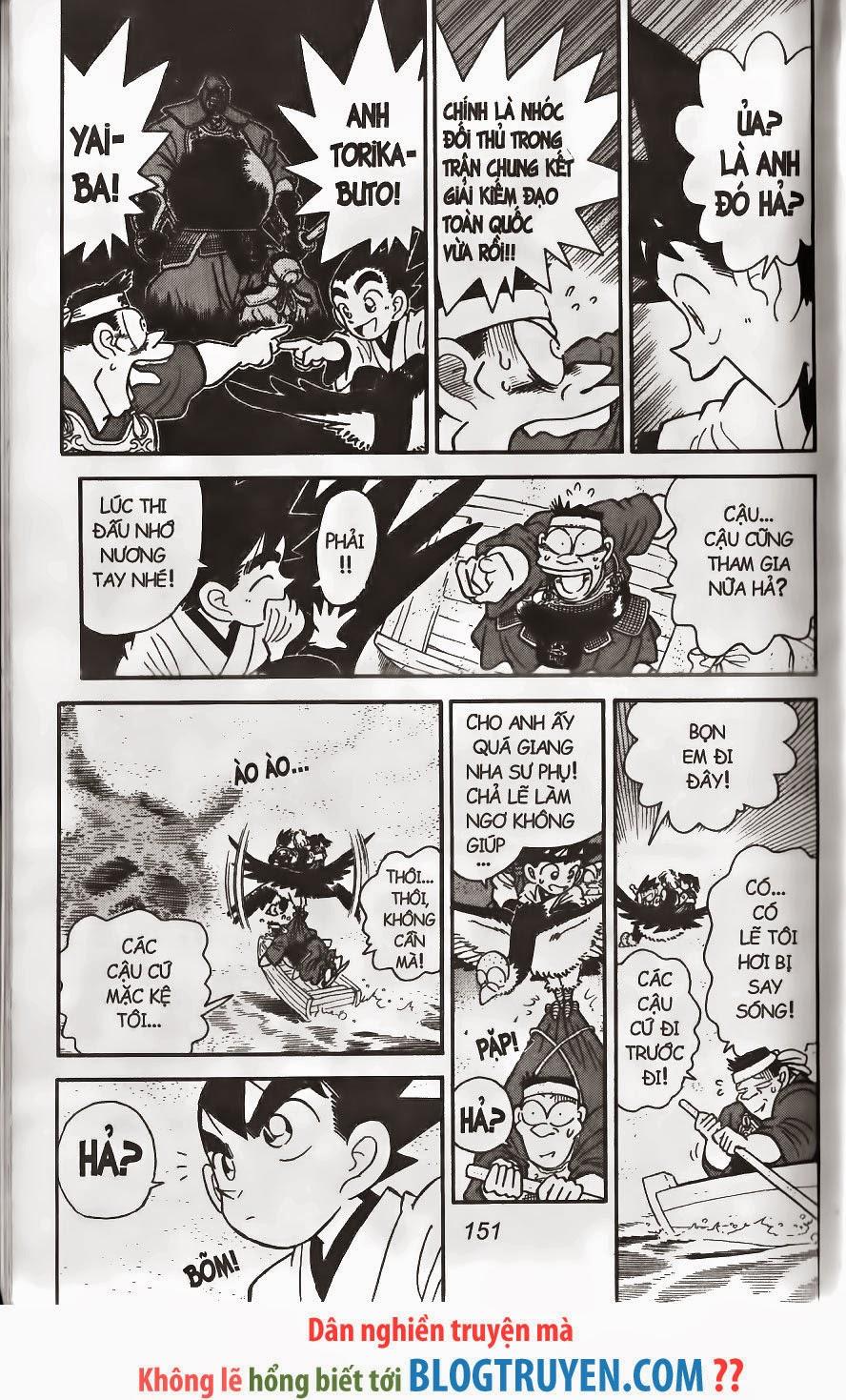 Yaiba chap 241 trang 16