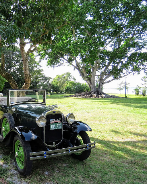 Early Model Ford at the Edison and Ford Winter Estates in Ft. Myers, Florida