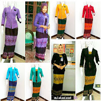 Seragam Batik Rok dan Blouse azalia