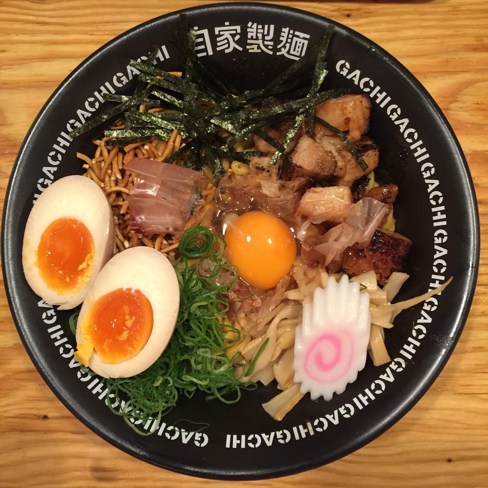Singapore Japan Food Blog : Dairy and Cream: Menya Gachi ...
