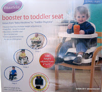 1 Mastela Booster to Toddler Seat