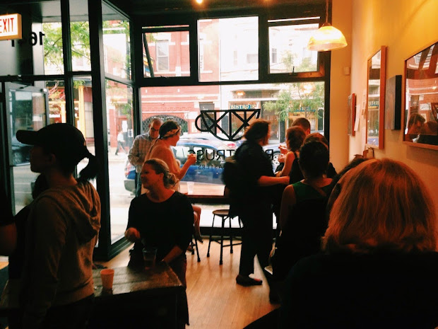 Chicago Coffee Hiatus Bow Truss Opening In