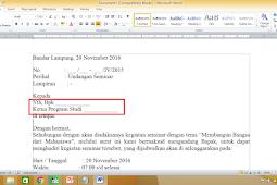 Membuat Surat Masal Mail Merge dengan Microsoft Word