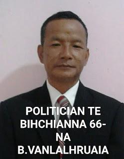 B. VANLALHRUAIA CHANCHIN
