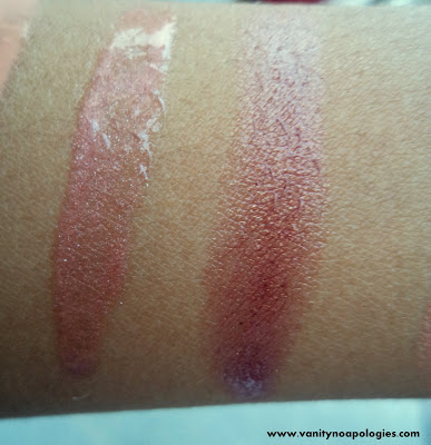 mac me over swatches collection