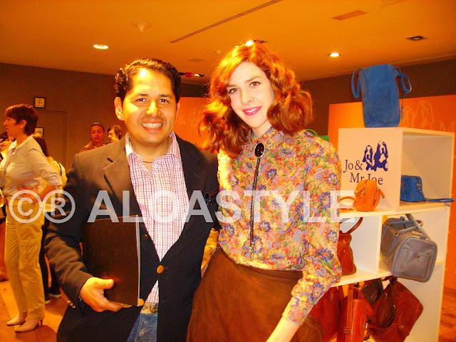 Con Brianda Fitz-James y Miranda Makaroff en la  presentación de  Jo & Mr. Joe en El Corte Inglés, Serrano 70, Madrid.