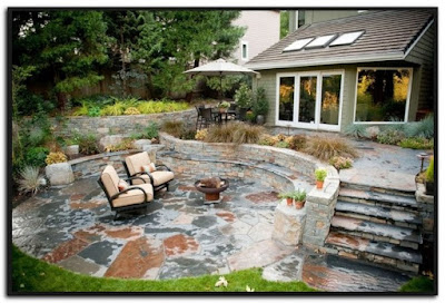 Pics Of Stone Patios And Decks