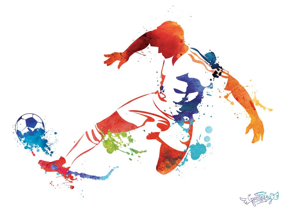 Vector Deportes Bolas Patrón De Fondo: RABISKERIA
