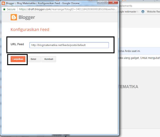 Cara Praktis Menambahkan Widget Feed di Blog Kamu