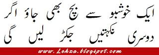 Aik Khushbo Sy Bach Bhi Jao Agar Dosri Nikahtyn Jakar Layn Gi