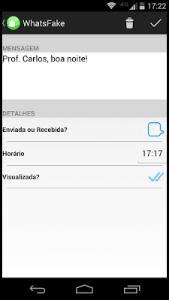تطبيق WhatsFake