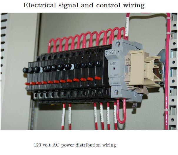 industrial instrumentation 120 volt ac power distribution. Black Bedroom Furniture Sets. Home Design Ideas