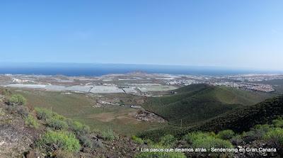Vistas del sureste de Gran Canaria