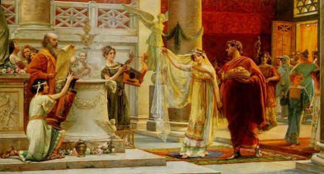 Nupcias y Derecho romano de Justiniano