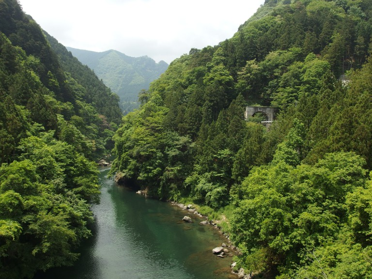 The picturesque countryside of Okutama