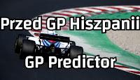 Przed Grand Prix Hiszpanii - GP Predictor