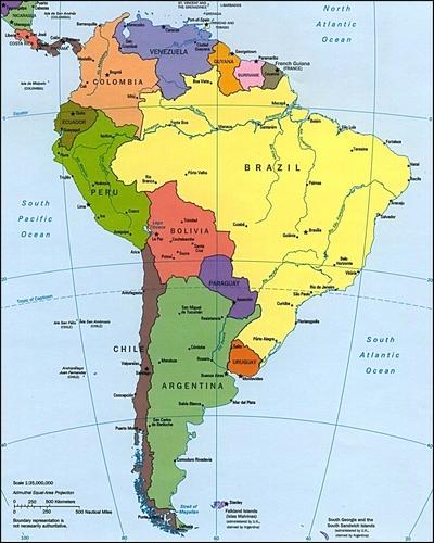 Curiosidades sobre a América do sul