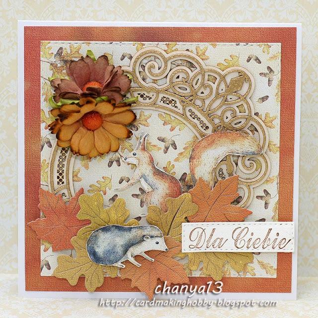 172. Jesienna kartka – Dla Ciebie