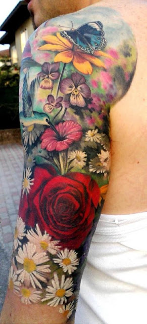 Amazing Watercolor Tattoos For Men