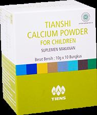 Kandungan Calcium Powder for Children