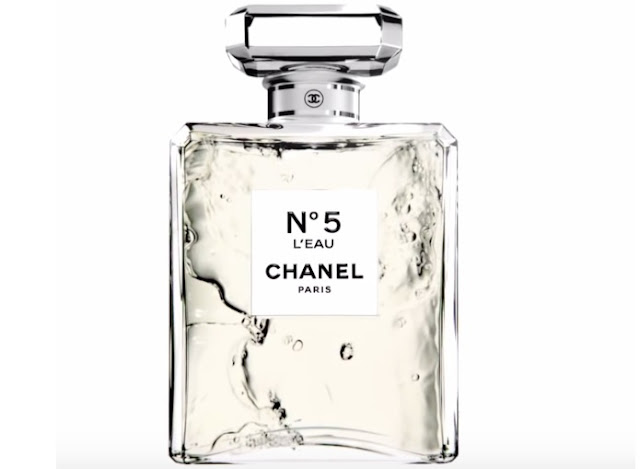 chanel no 5 l eau. Black Bedroom Furniture Sets. Home Design Ideas