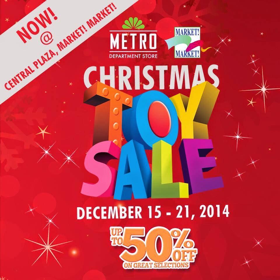 Manila Shopper Metro Christmas Toy Sale At Market Market