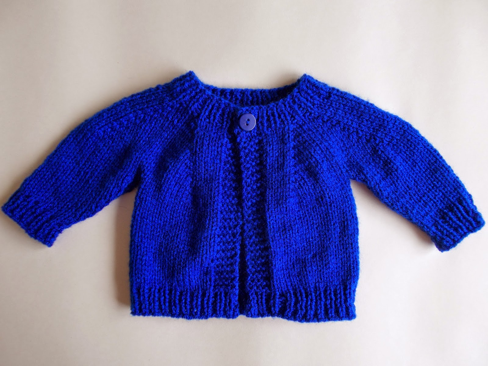 top down baby jacket ~ for boys or girls