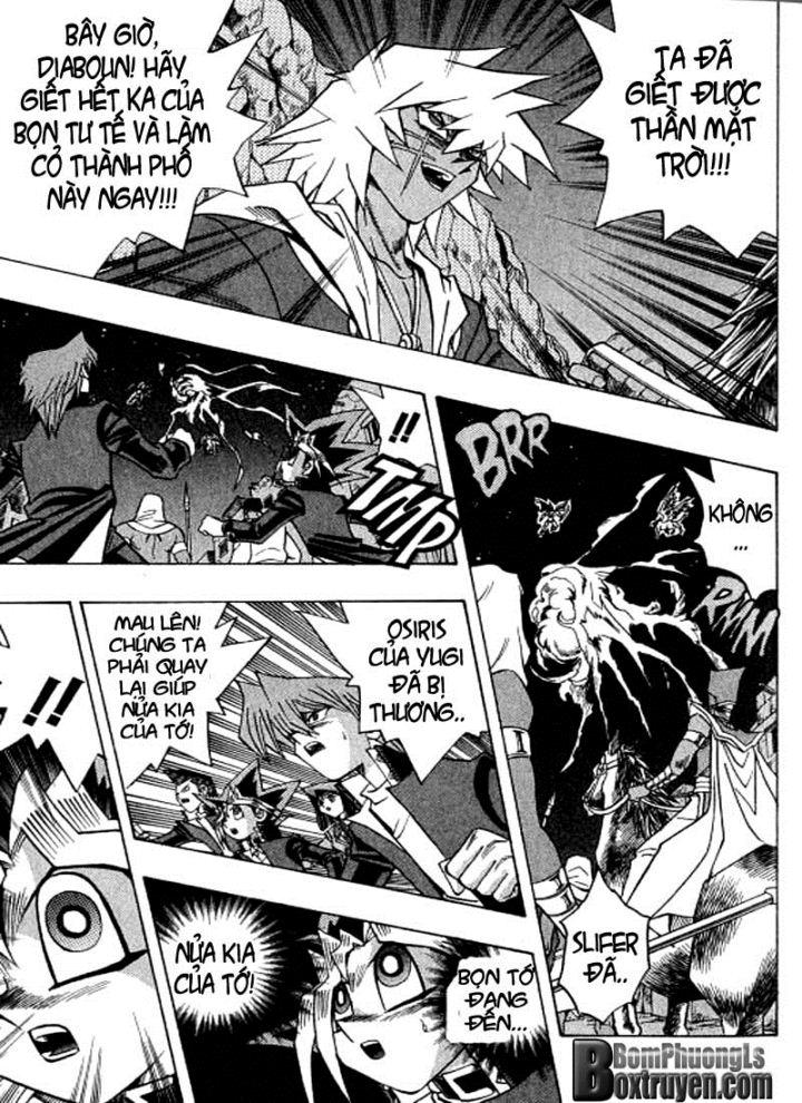 YUGI-OH! chap 306 - đảo ngược thời gian trang 9