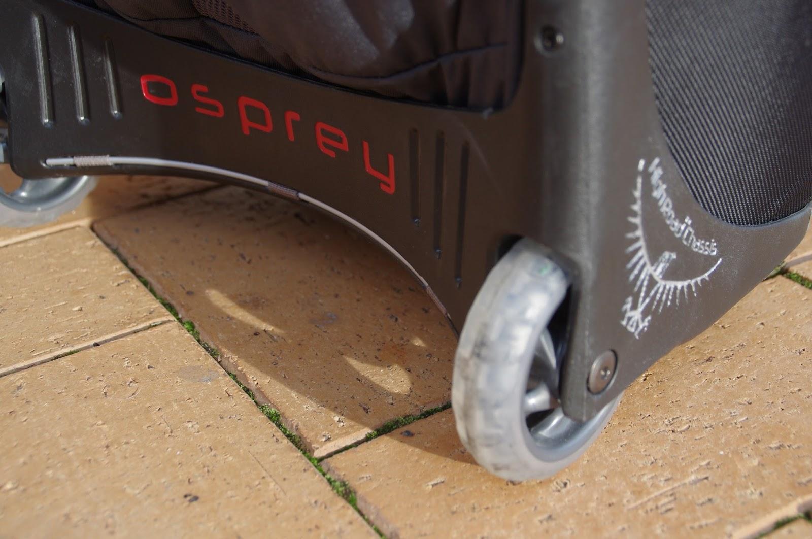 Osprey Meridian 75 Luggage wheels