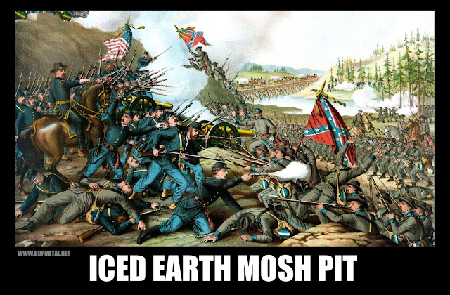 Iced Earth Mosh Pit, Iced Earth Meme