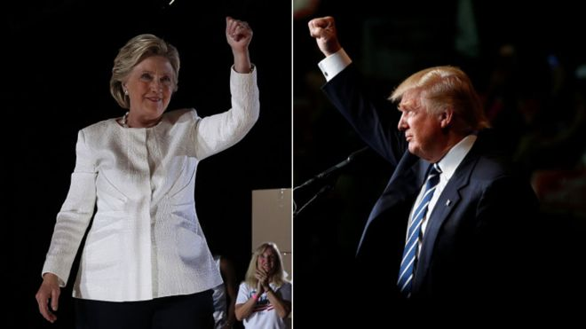 US election 2016: Clinton accuses Trump of bullying women