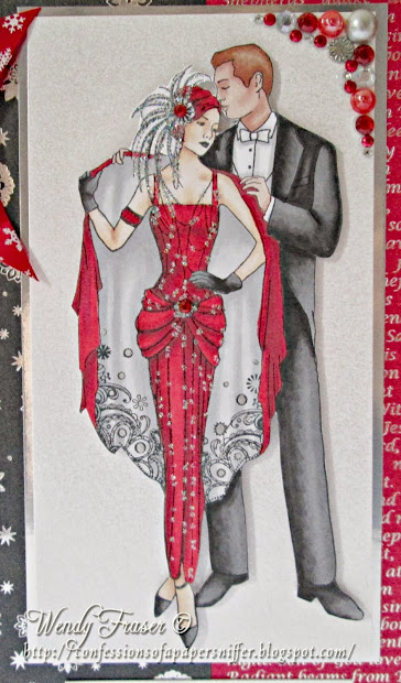 Confessions Of Papersniffer ' Art Deco Christmas
