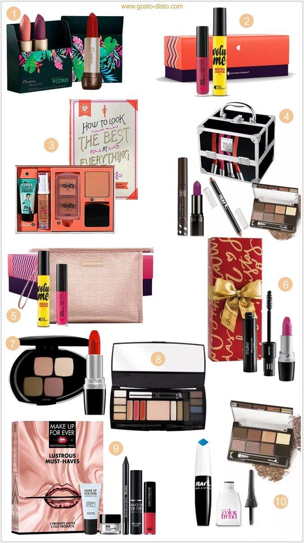 10 ideias de presente para sua amiga que ama maquiagem