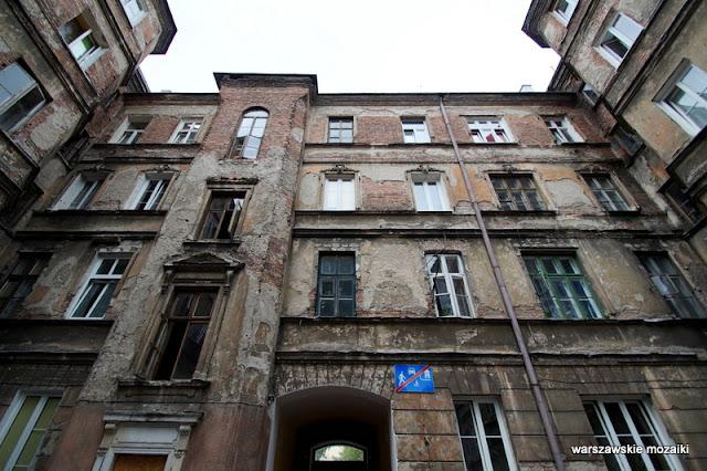 Warszawa Warsaw kamienica Praga Północ Aron Balfisz architektura 1890 podwórko