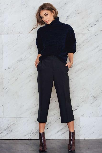quali stivali abbinare ai pantaloni culotte abbinamento stivale basso e pantalone  culotte boots and culotte pants tendenze moda inverno 2017