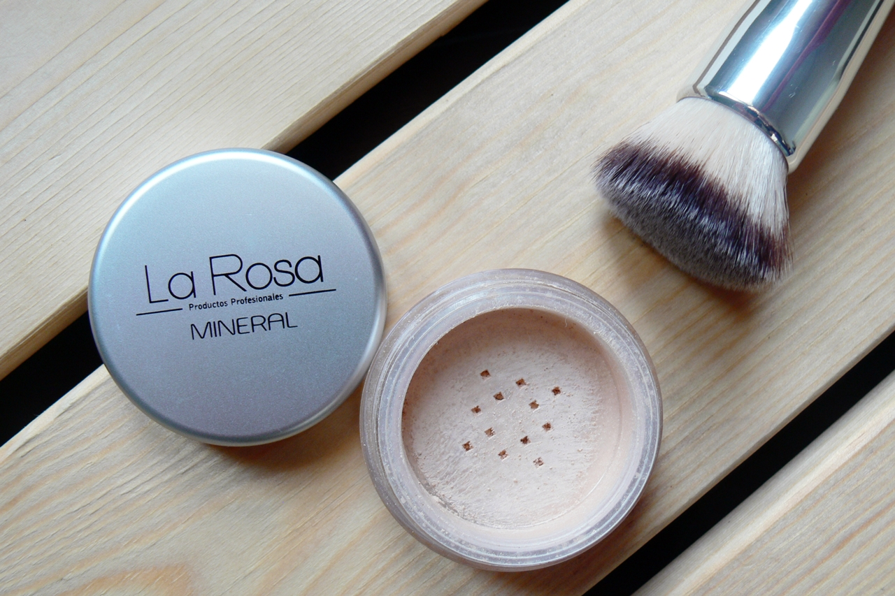 Pędzel do podkładu Foundation Brush Flat Top La Rosa