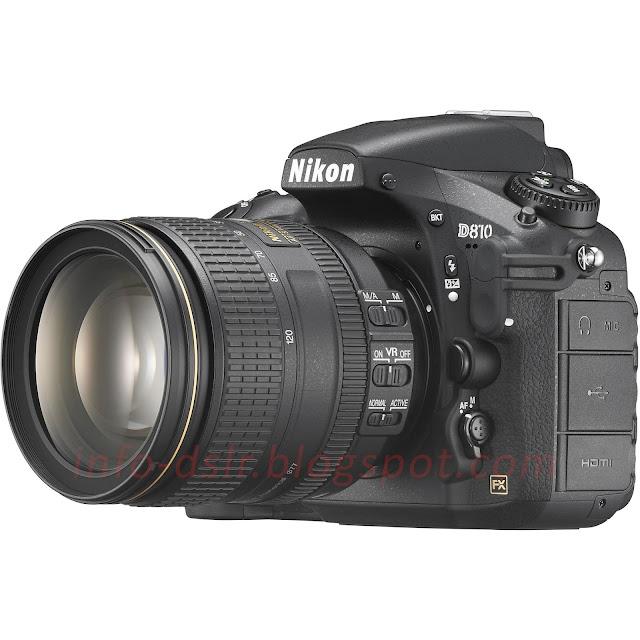 Spesifikasi dan Harga Terbaru Nikon D810 2017