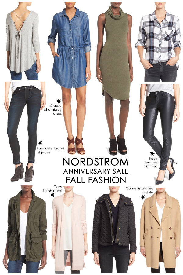 My fall fashion picks from the #NSALE