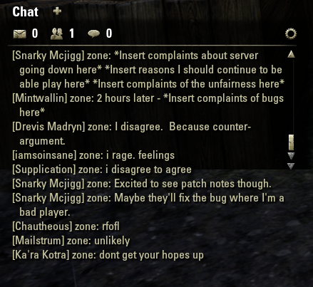 Thematic Dissonance: Some ESO fun, pvp and a spoiler post on