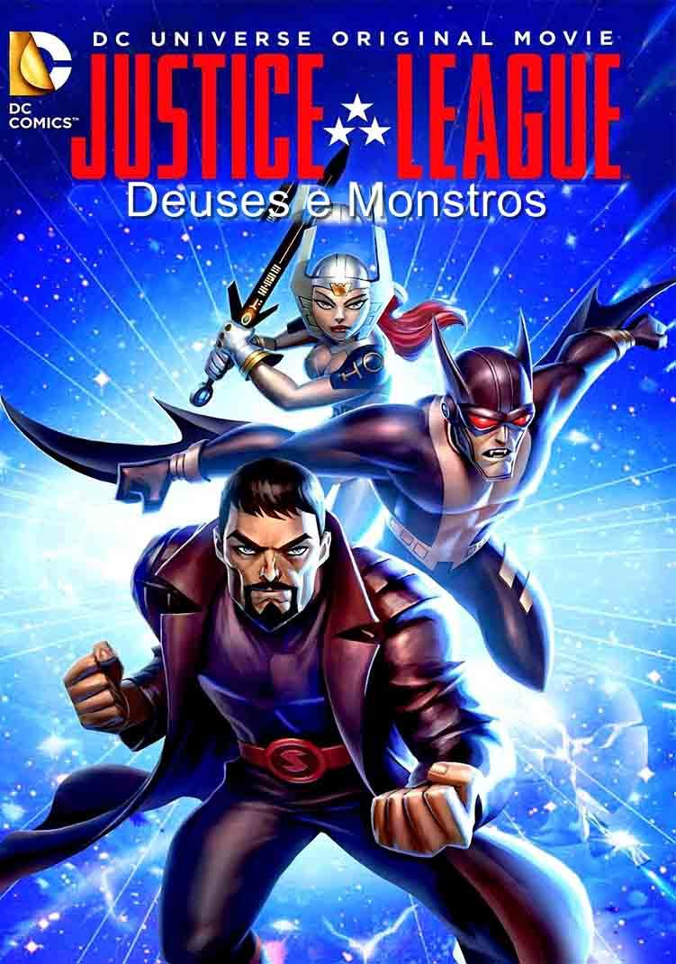 Liga da Justiça: Deuses e Monstros Torrent – Blu-ray Rip 720p Dual Áudio (2015)