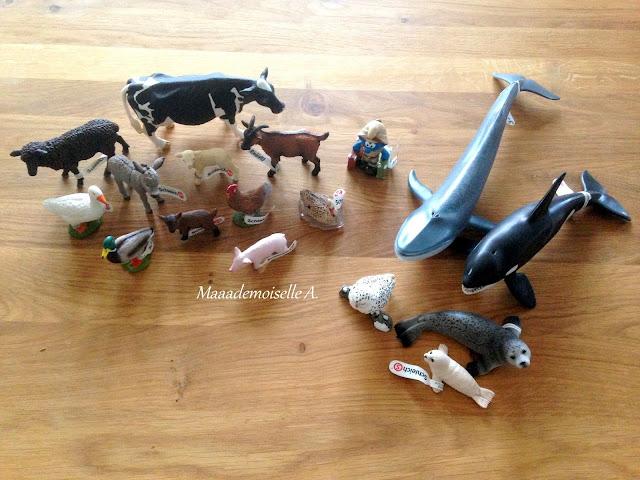 Figurines Schleich - Ferme et animaux polaires