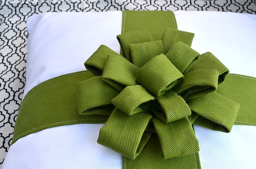 Gift Bow Pillow