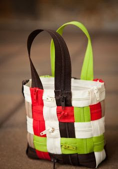 DIY Zipper Bag